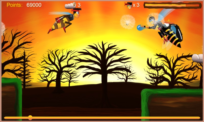 2d Runner, and honey shoot from Independent Game Studio
